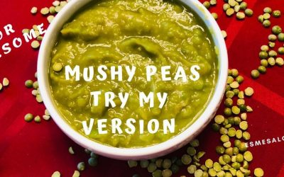 My version of Mushy Peas