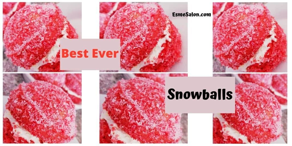 The Best Ever Coconut Snowballs
