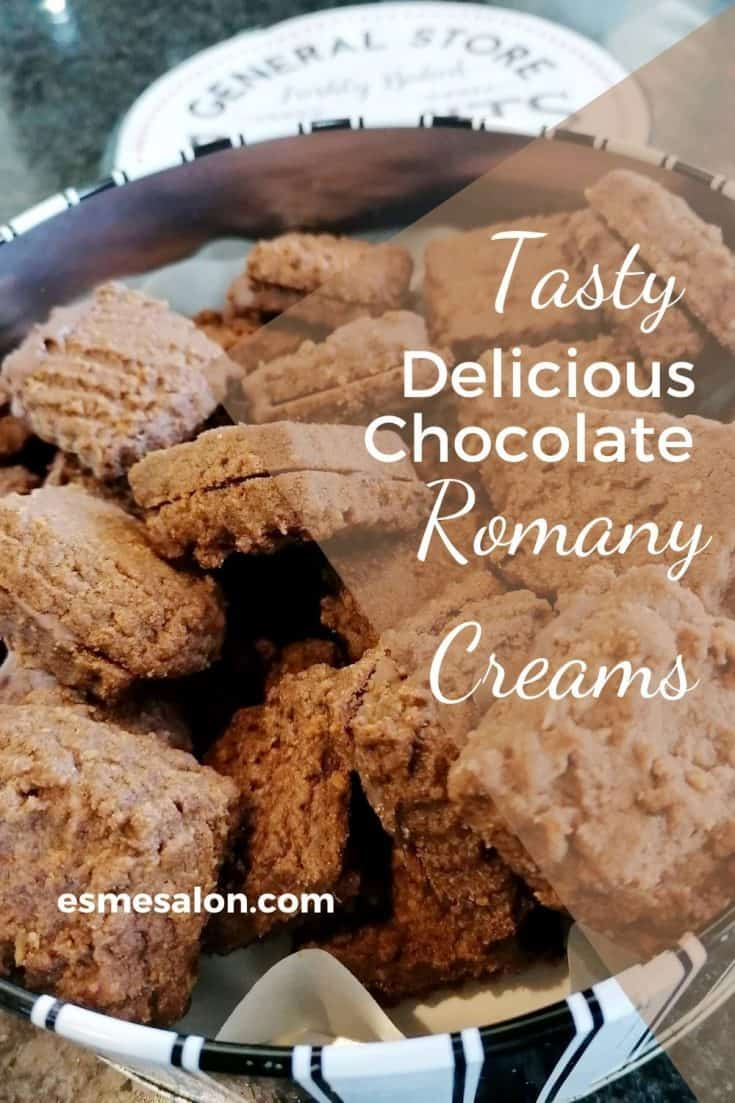 Chocolate filled Romany creams