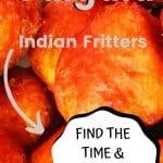 Indian Gulgula / Pumpkin Fritters