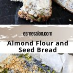 Wheat-free Almond Flour Bread with lots of nuts