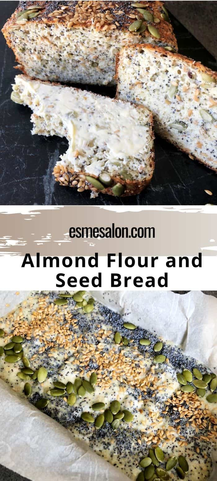 Almond Flour and Seed Bread