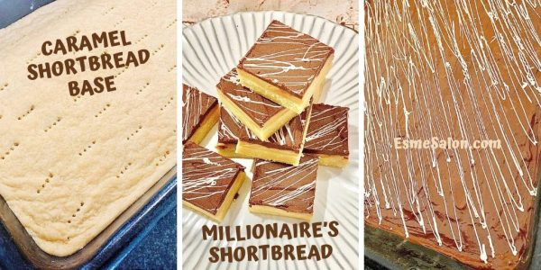 Delicious Millionaire's shortbread