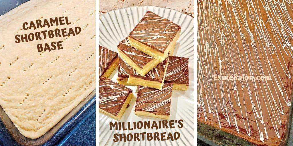 Millionaire's shortbread ~ Esme Salon