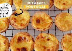 Belém Tarts from Portugal