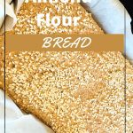 Almond Flour Bread with sesame seed