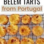 Portugal Belem tarts
