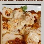 Chicken Breasts with Feta and sun-dried tomatoes