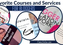 Favorite Courses and Services for Bloggers