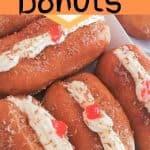 Fresh cream donuts