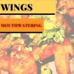 Mouthwatering Chicken Wings Sticky