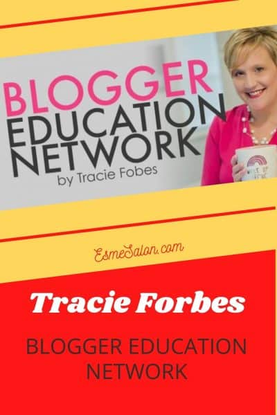 Tracie Forbes Blogger Education Network