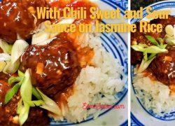 Enjoy Wonderful Air Fried Asian Meatballs