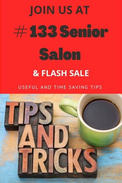 # 133 Senior Salon & Flash Sale