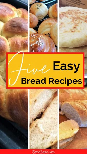 5 Easy Amazing Bread Recipes for Beginners