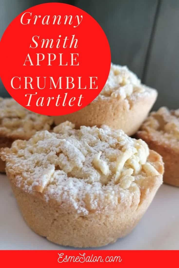 Individual Apple Crumble Tartlets