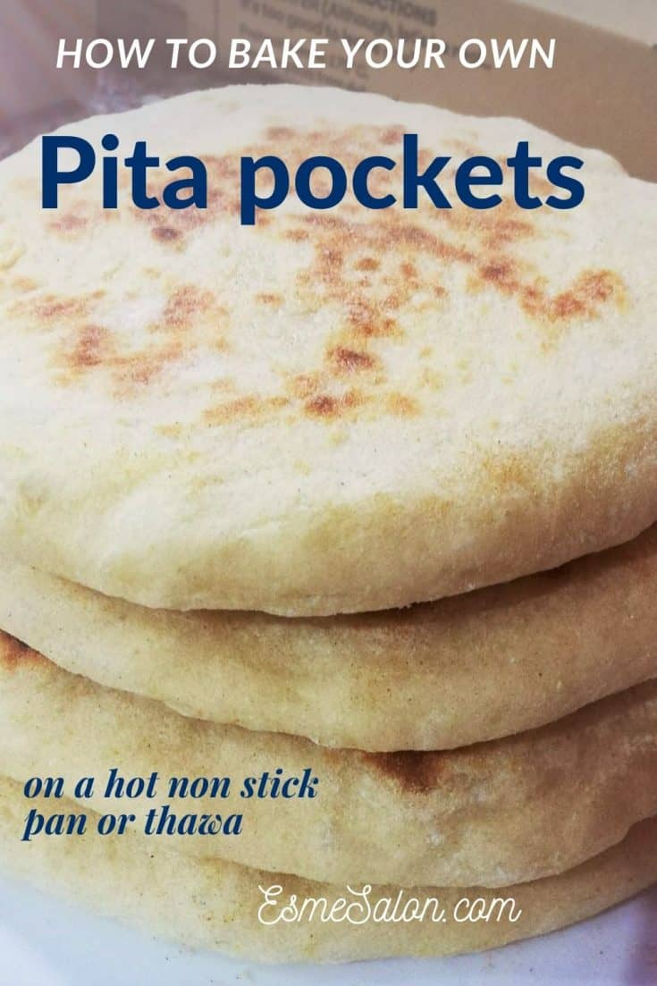 Pita pockets bread
