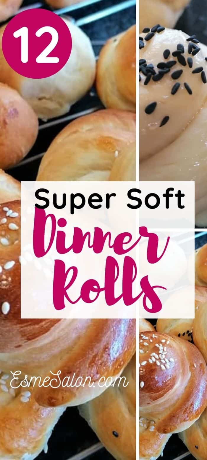 Super Soft Dinner Rolls