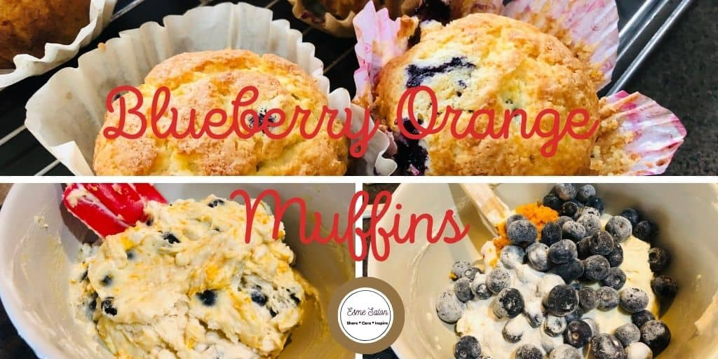 Blueberry Orange Muffins for all