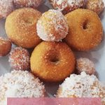 Home-made donuts