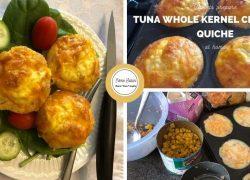 Tuna Whole Kernel Crustless Quiche