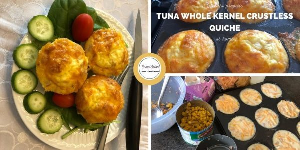 How to prepare Tuna Whole Kernel Crustless Quiche at home