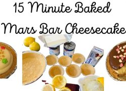 15 Minute Baked Cheesecake