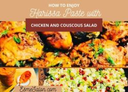 Harissa Paste with Chicken and Couscous Salad
