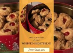 Insane and Best Whipped Shortbread