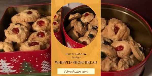 Insane Whipped Shortbread