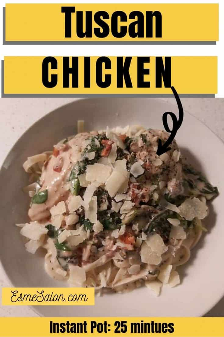 Family-friendly Creamy Tuscan Chicken
