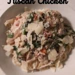 Instant Pot Tuscan Chicken Bowl