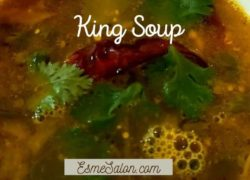 Traditional Indian King Soup