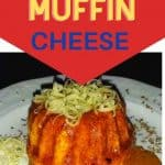 South African Marmite Muffin with cheese