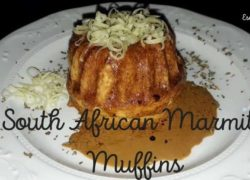 South African Marmite Muffins