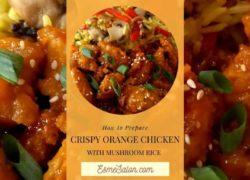 Insane Crispy Orange Chicken Idea