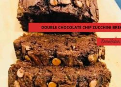 Easy Double Chocolate Chip Zucchini Bread