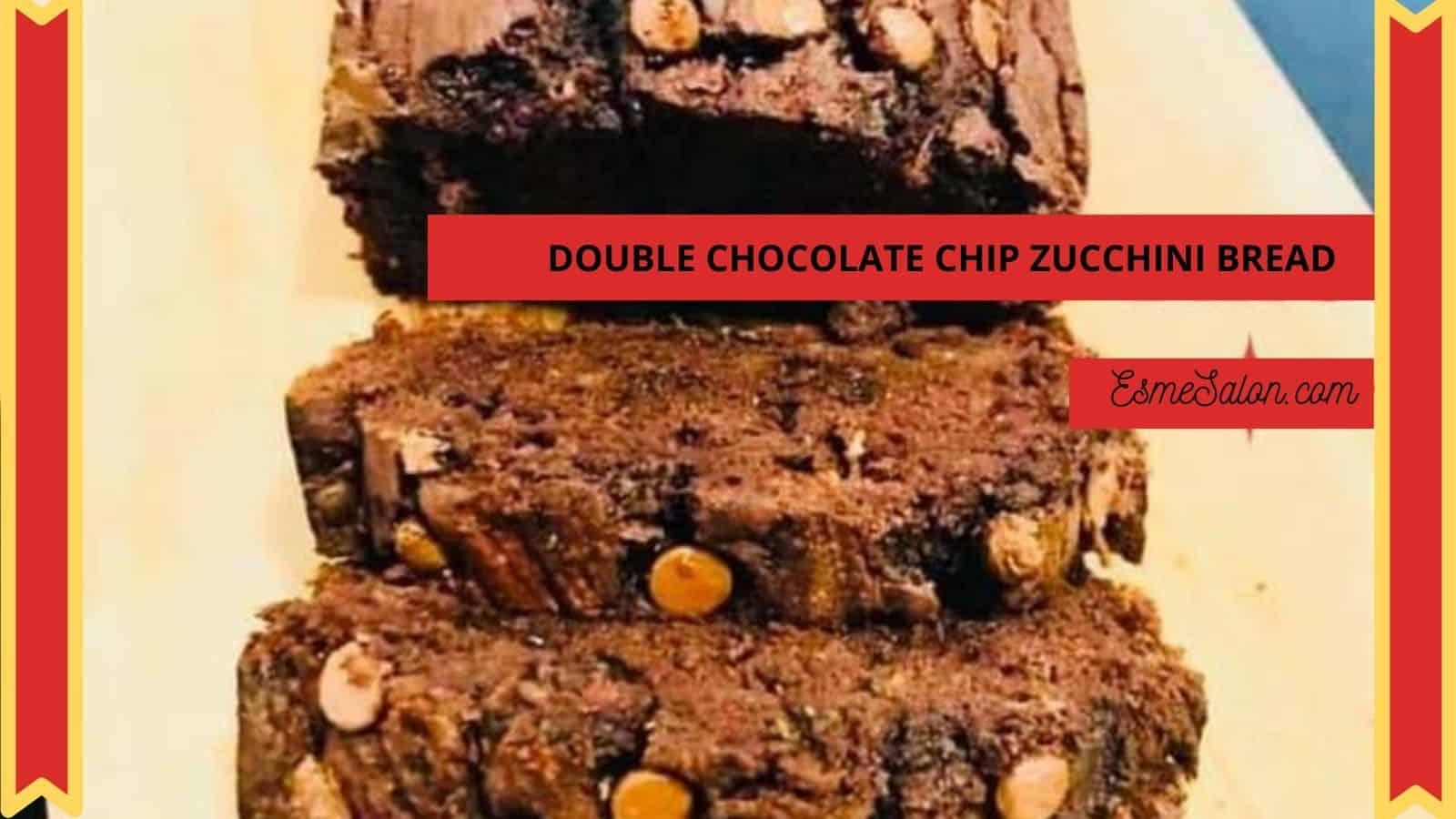 Double Chocolate Chip Zucchini Bread
