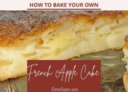 French Apple Cake No Rum