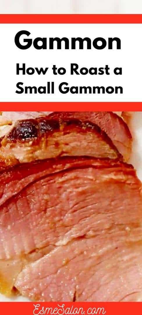 Sliced Roasted Gammon