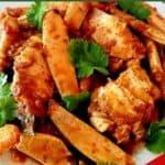 Masala and Green Chili Crab