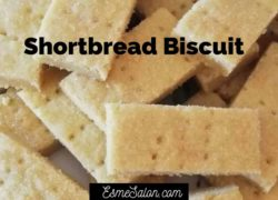 Traditional Simple Shortbread Biscuits