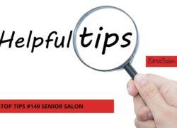 Stop Tips #149 Senior Salon