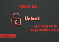 How to unlock and win with #150 Senior Salon