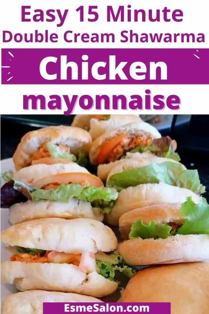 Easy Chicken Shawarma Sandwiches with Double Cream