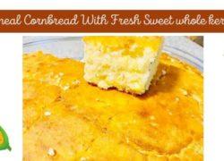 No Cornmeal Cornbread With Fresh Sweet Corn