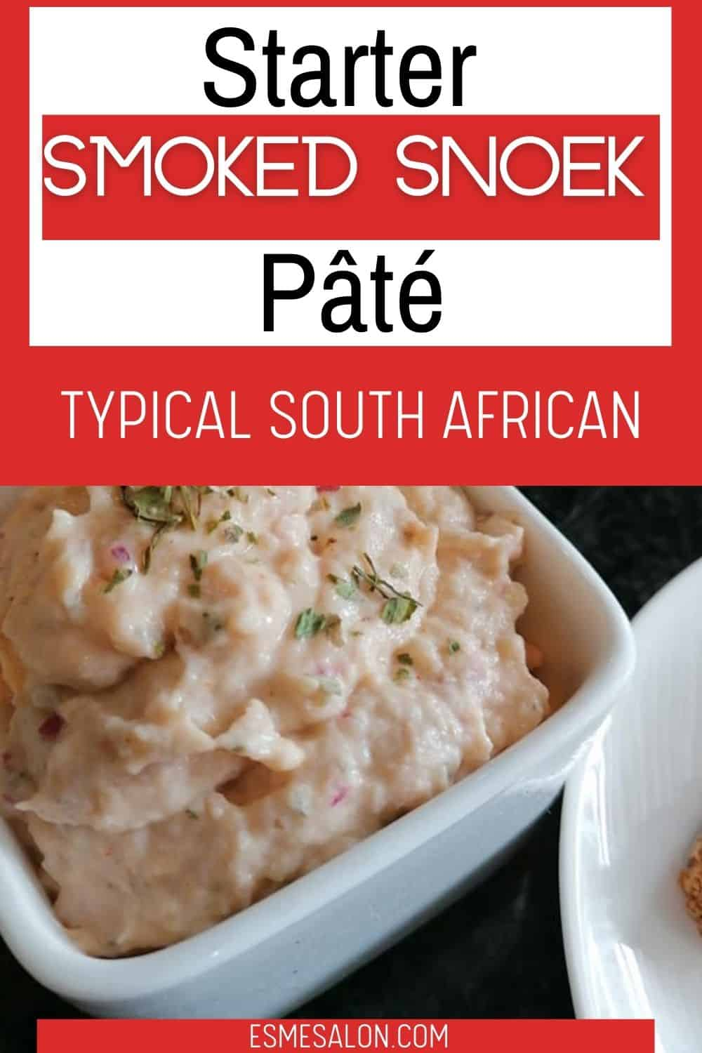 A bowl of A classic South African Smoked Snoek Pâté