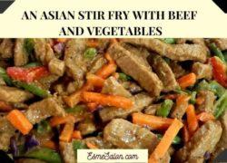 Asian Vegetable Steak Stir Fry