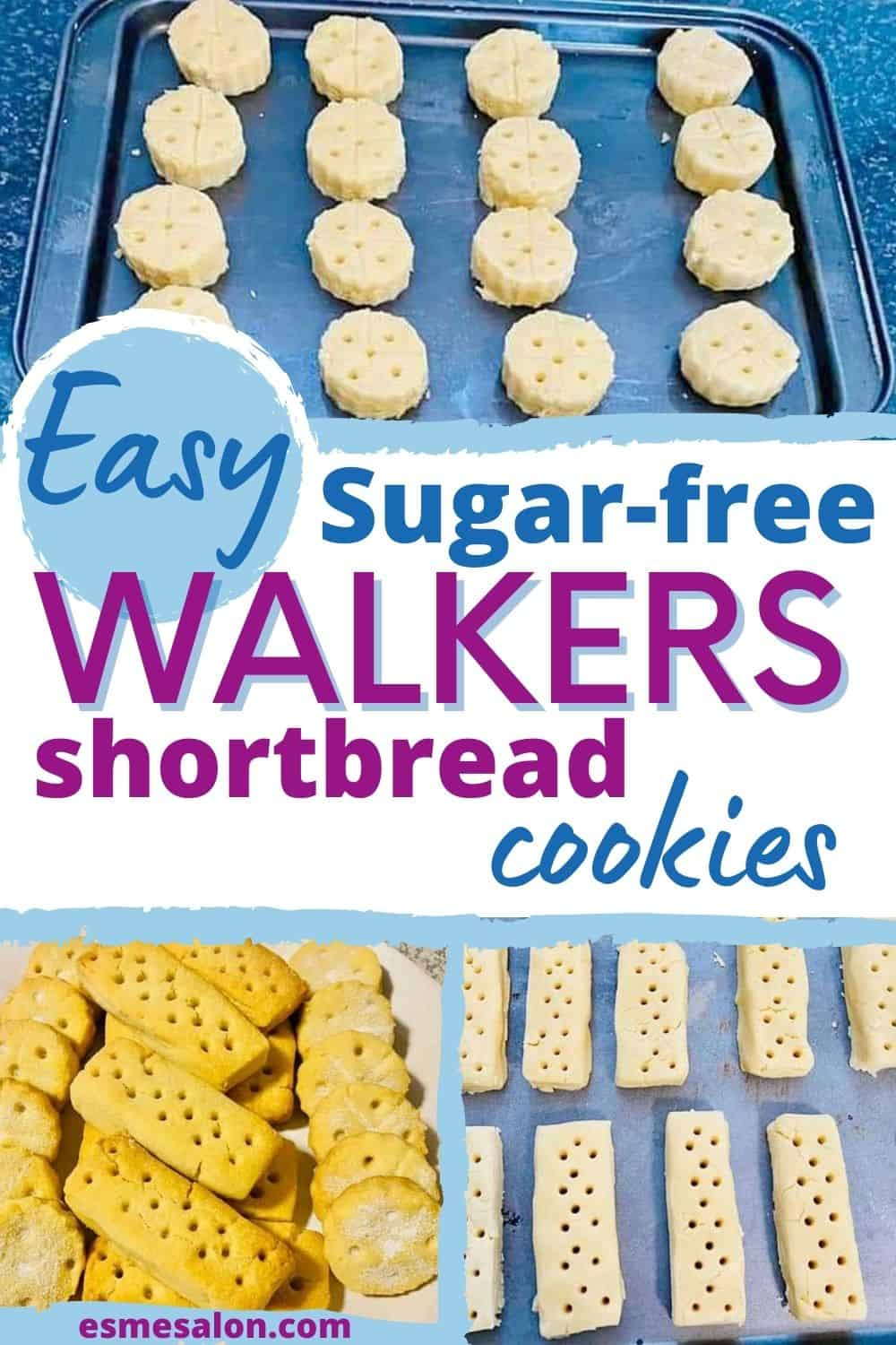 Melt in the mouth Sugar-Free Walkers Shortbread Cookies