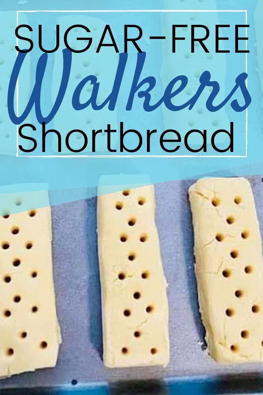 Finger size Sugar-FreeWalkers Shortbread cookies